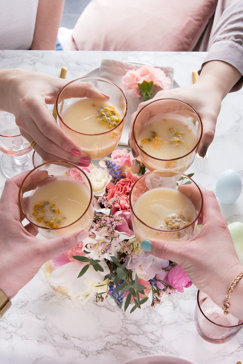 Rezept Maracuja-Eierlikör Cocktail