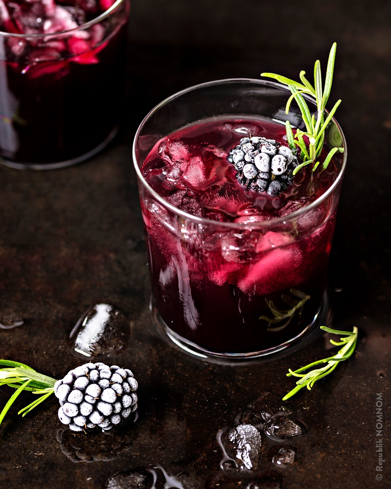 Rezept Märchenhafter Brombeer-Cocktail!