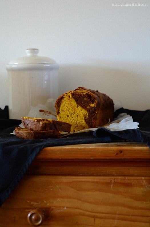 Rezept Marmorkuchen mit Kürbis und Zimt