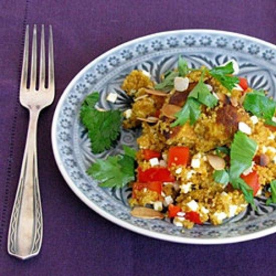 Rezept Marokkanische Hähnchenpfanne mit Couscous