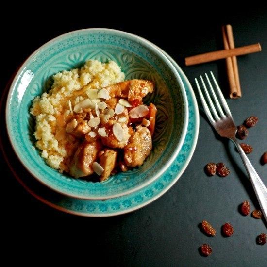 Rezept Marokkanisches Hähnchen mit Feige