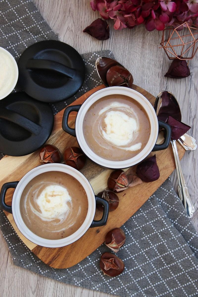 Rezept Maronen-Creme-Suppe