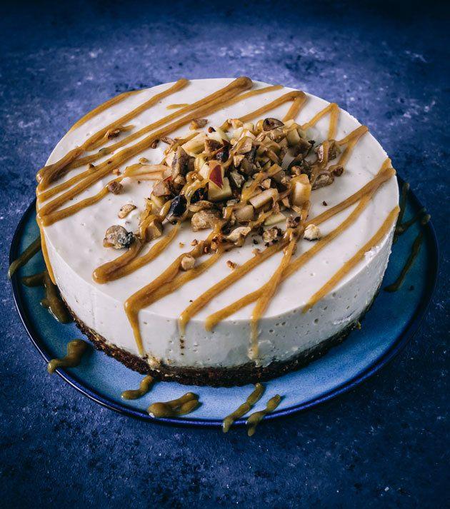 Rezept Maronen Frischkäse Torte- vegan-