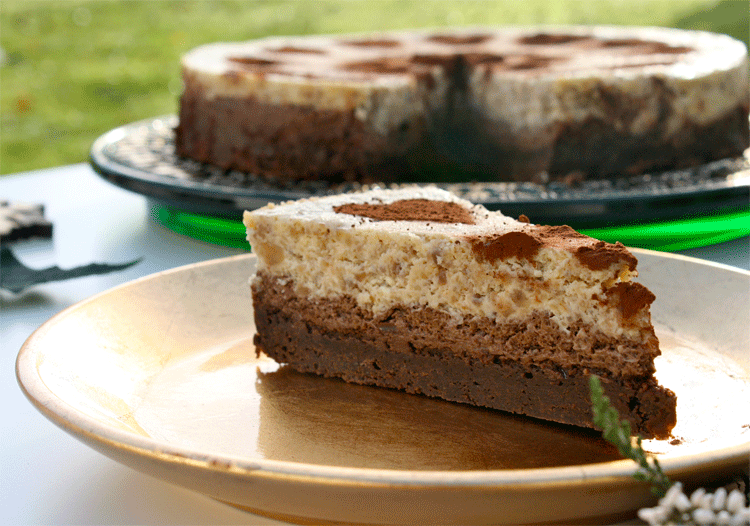 Rezept Maronen Schokoladen Cheesecake