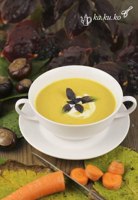 Rezept Maroni-Karotten-Suppe