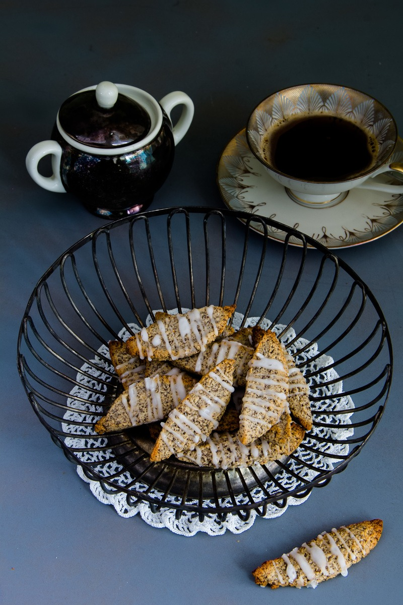 Rezept Marzipan-Mohn-Kekse