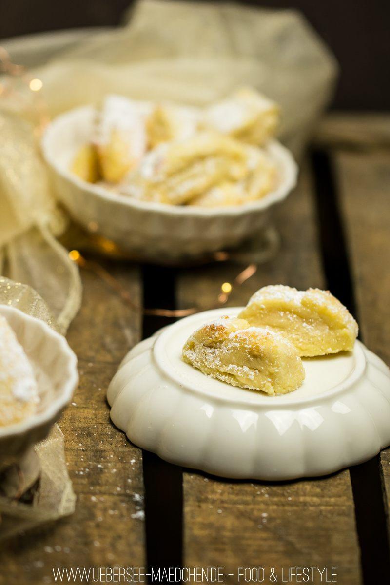 Rezept Marzipankissen-Plätzchen ohne Ausstechen