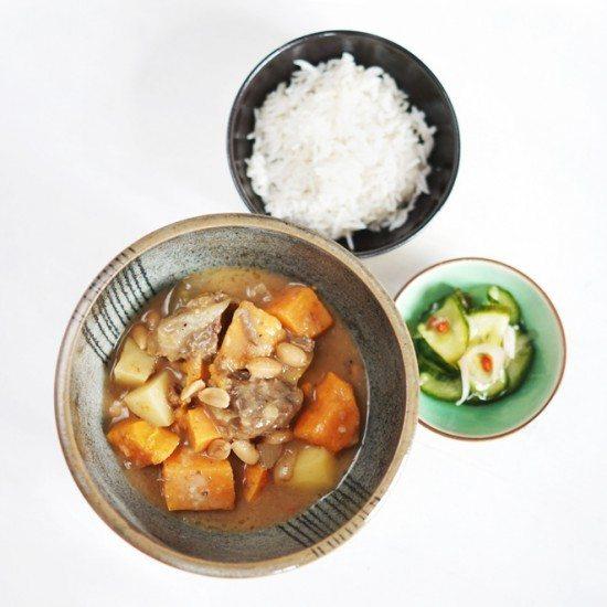 Rezept Massaman Curry mit Rindfleisch