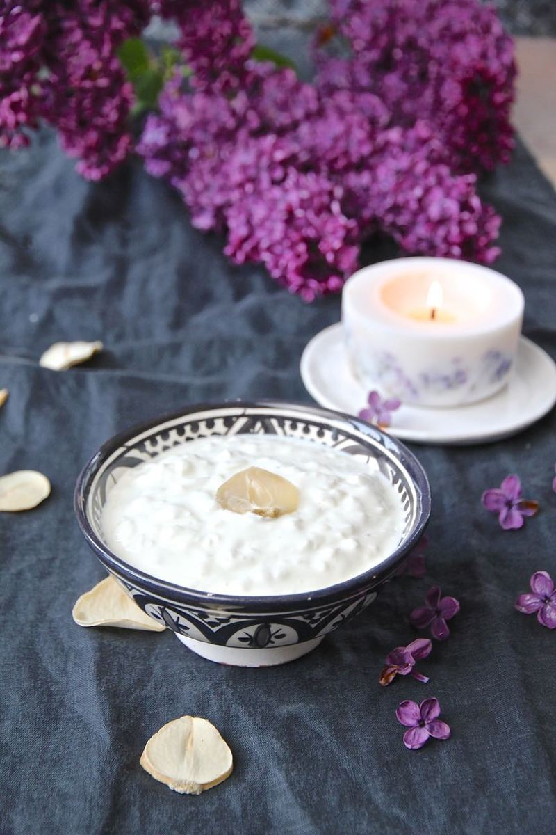 Rezept Mast o Musir - persischer wilder Knoblauch-Joghurt