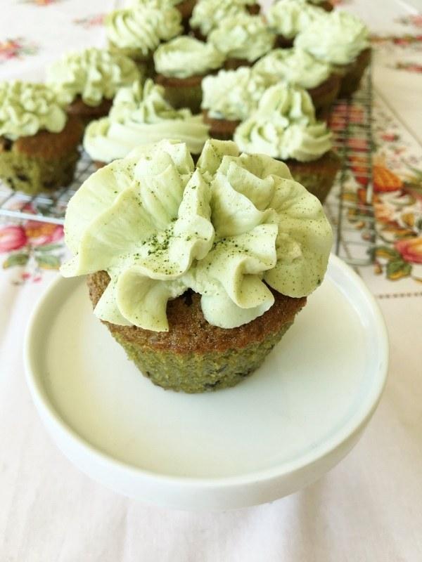 Rezept Matcha-Schoko Cupcakes