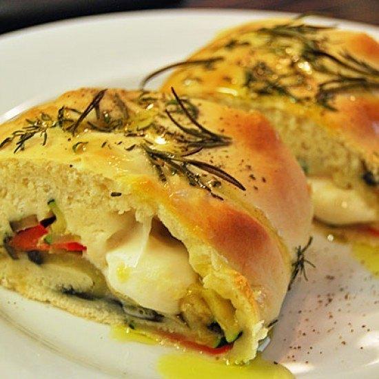 Rezept Mediterane Pizzarolle