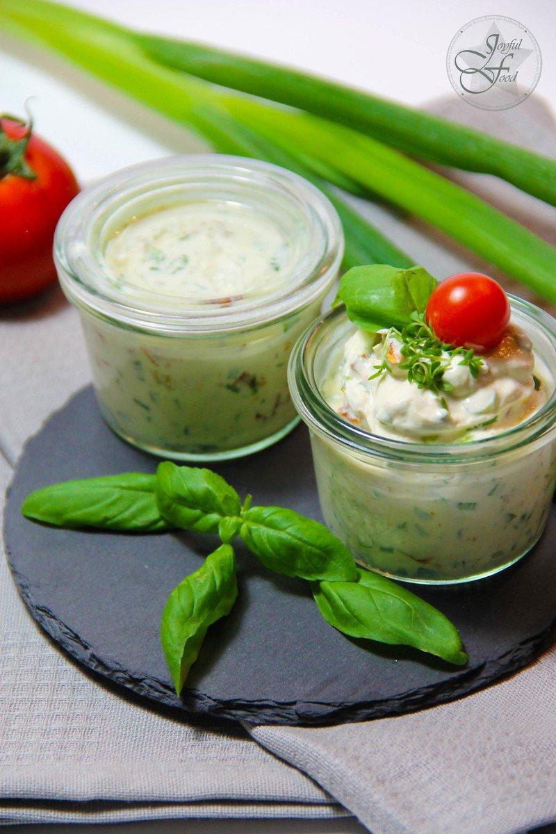 Rezept Mediterrane Frischkäsecreme
