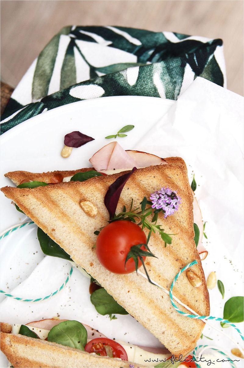 Rezept Mediterranes Sandwich