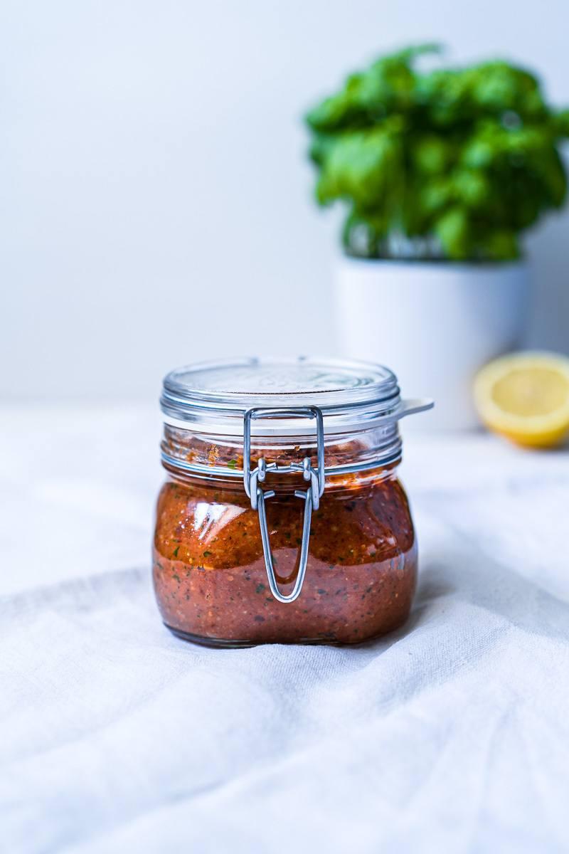 Rezept Mein bestes Pesto Rosso - Tomatenpesto