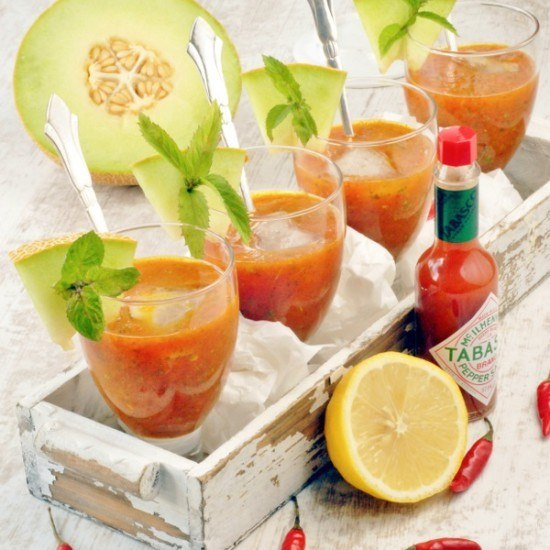 Rezept Melonen Gazpacho
