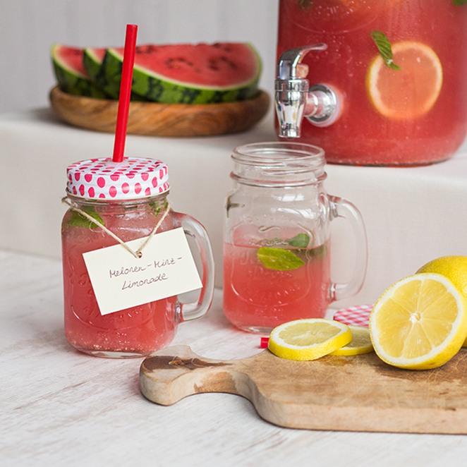 Rezept Melonen-Minz-Limonade