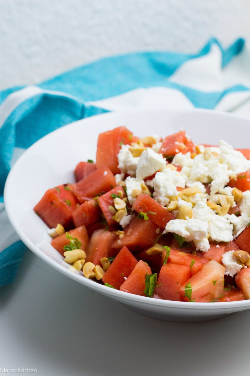 Rezept Melonensalat