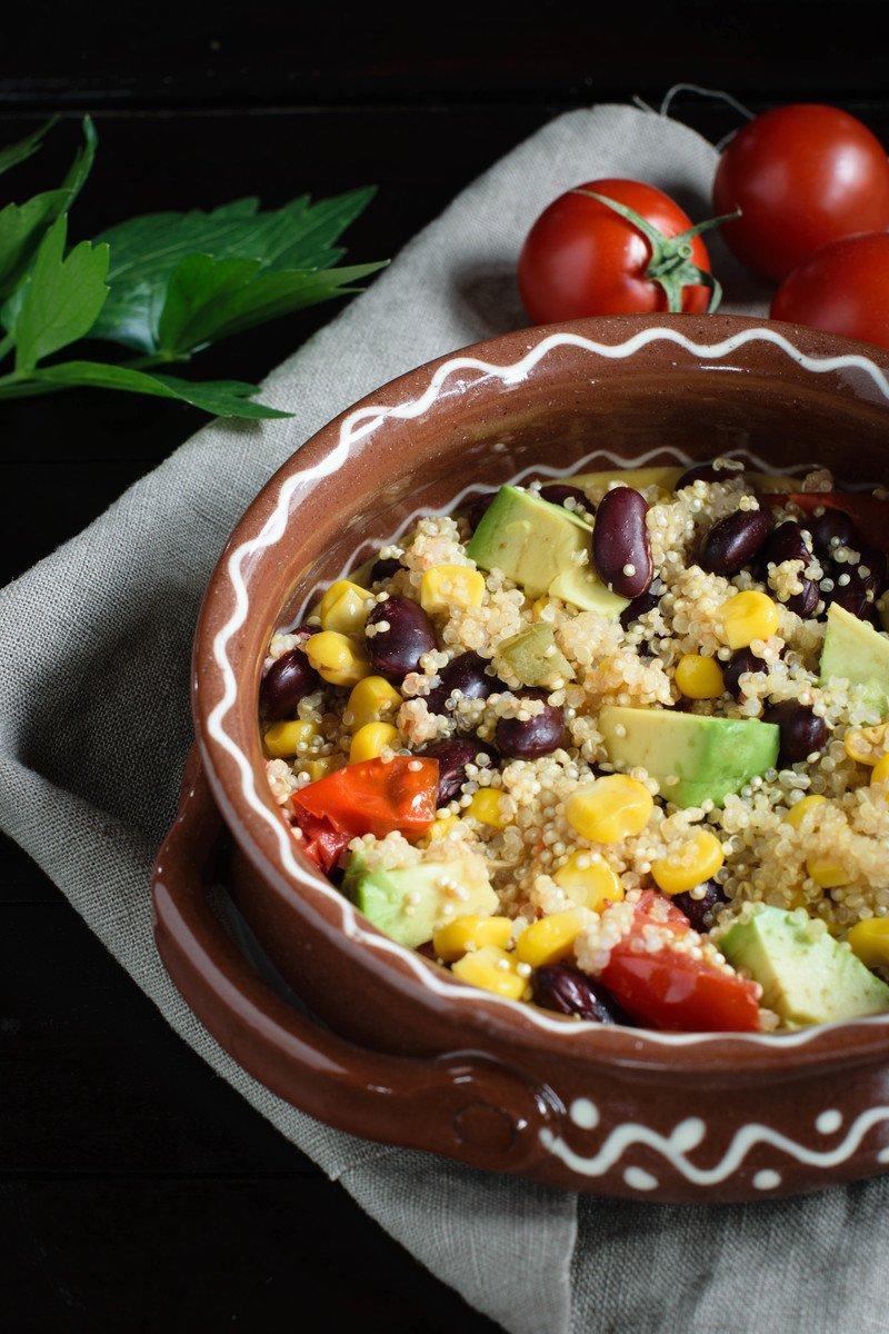 Rezept Mexikanische Quinoa-Pfanne