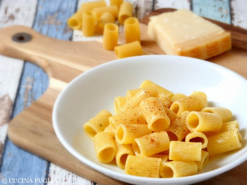 Rezept Mezzi Rigatoni con burro e parmigiano