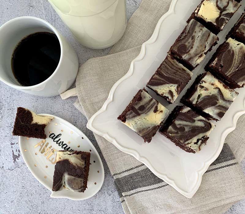 Rezept Milchmädchen-Eierlikör-Brownies