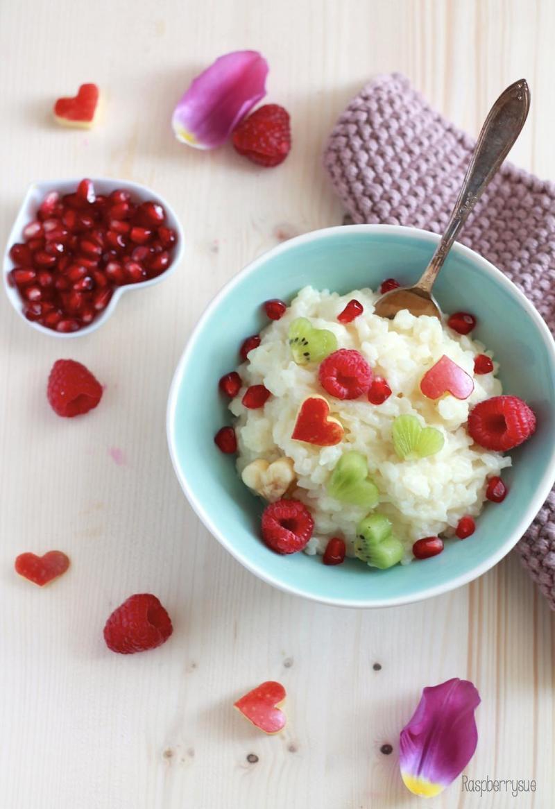 Rezept Milchreis mit Früchten