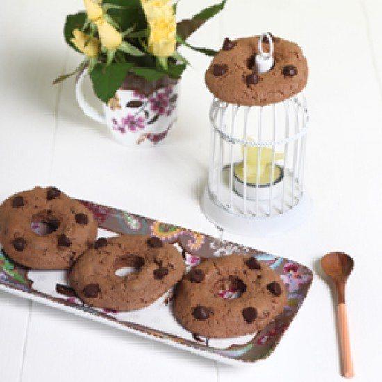 Rezept Milka Donut Cookies mit Pekannüssen