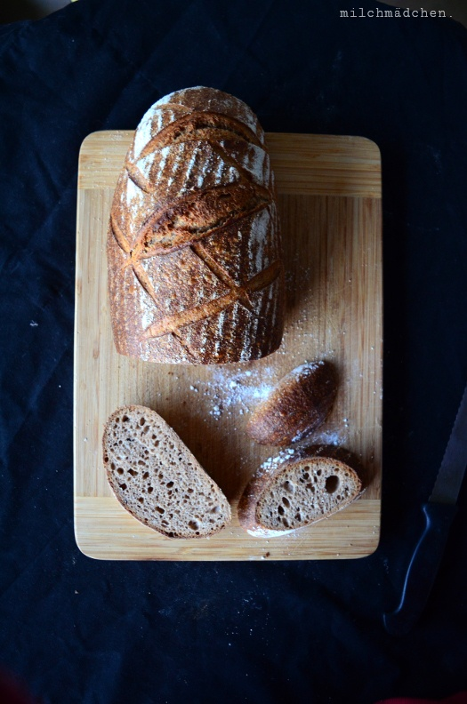 Rezept Miller's Bread nach Dietmar Kappl zum World Bread Day 2017