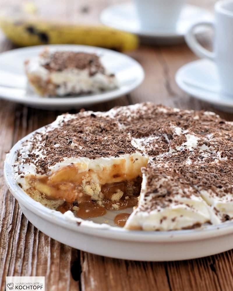 Rezept Mini-Banoffee-Pie