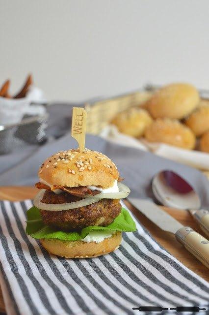 Rezept Mini Burger Buns