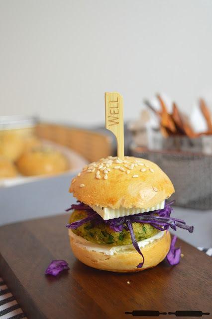 Rezept Mini Burger mit Falafeln