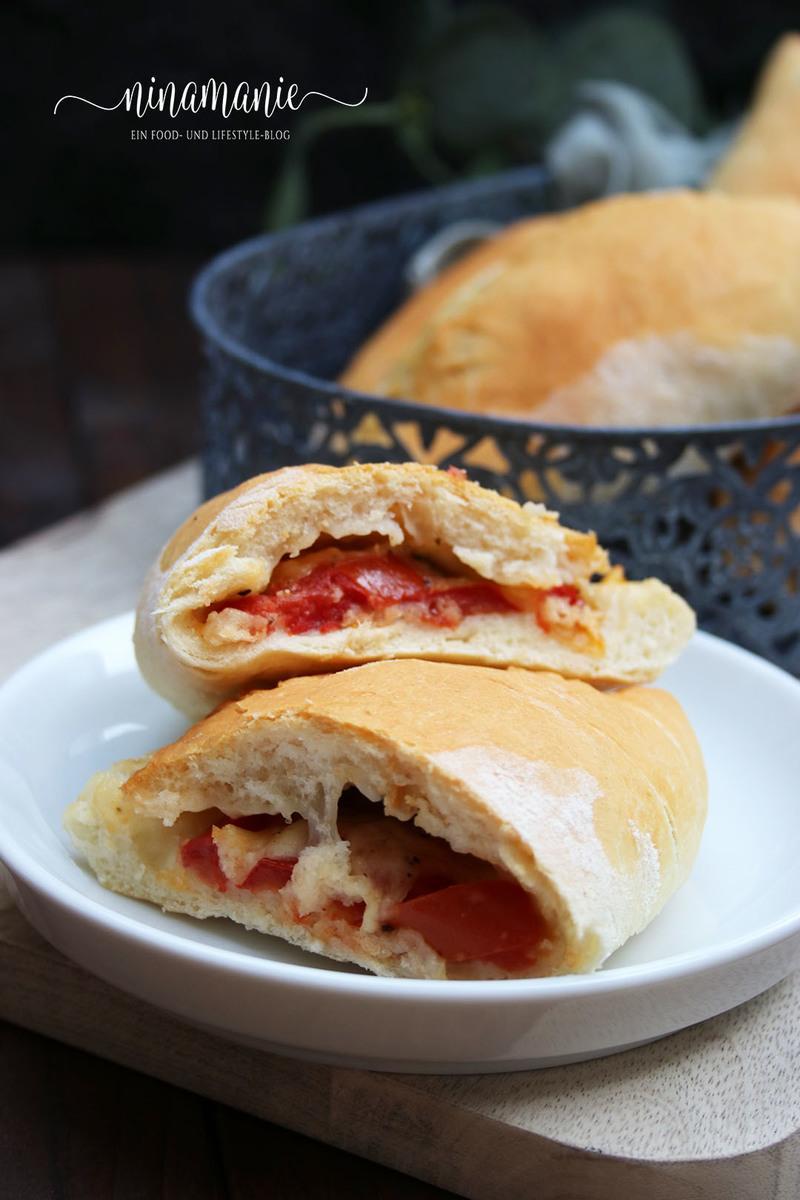 Rezept Mini-Calzoni Tomate-Mozarelle