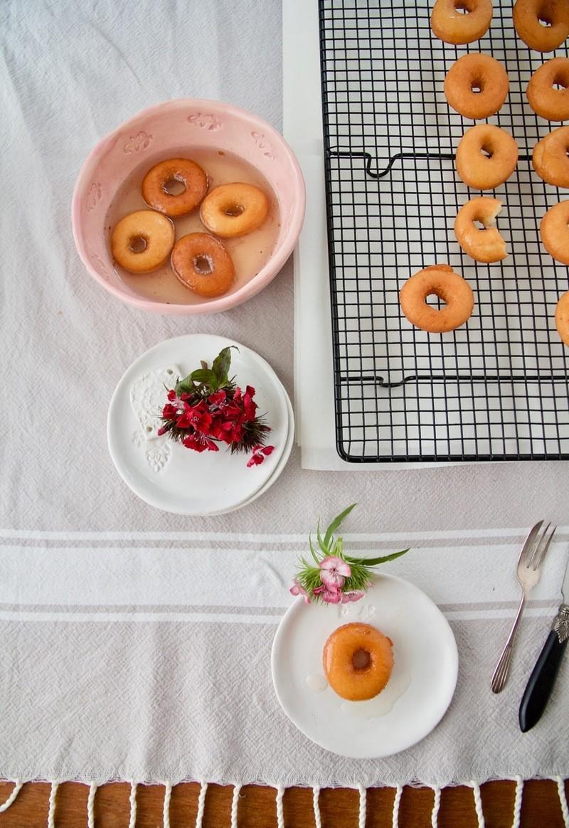 Rezept Mini donuts in sirup nach persischer Art