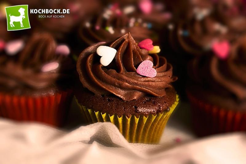 Rezept Mini-Schoko-Cupcakes