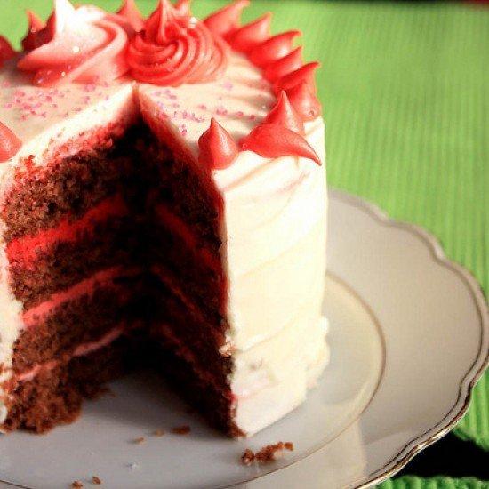 Rezept Mini Schokoladen Kuchen zum Muttertag