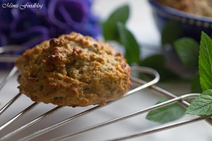 Rezept Minz-Cookies mit Haferflocken