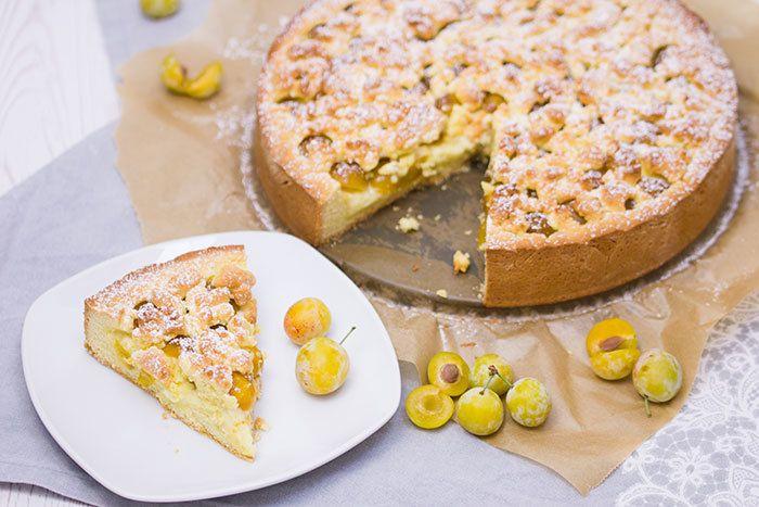 Rezept Mirabellen-Vanille-Streuselkuchen