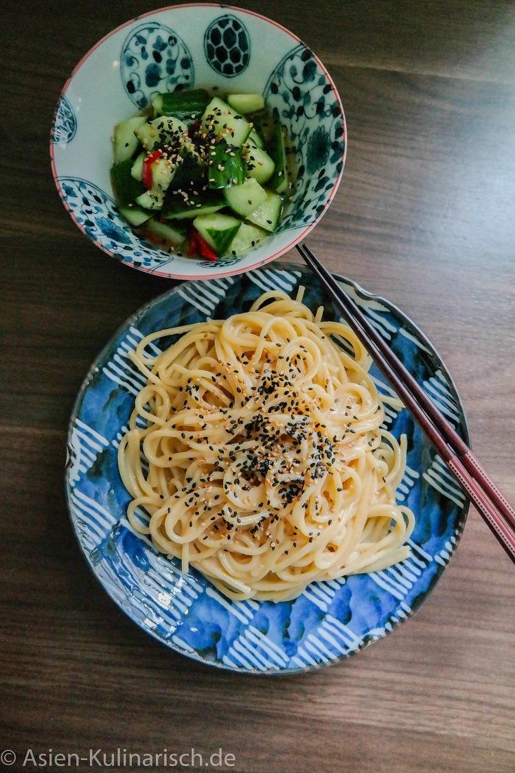 Rezept Miso-Spaghetti
