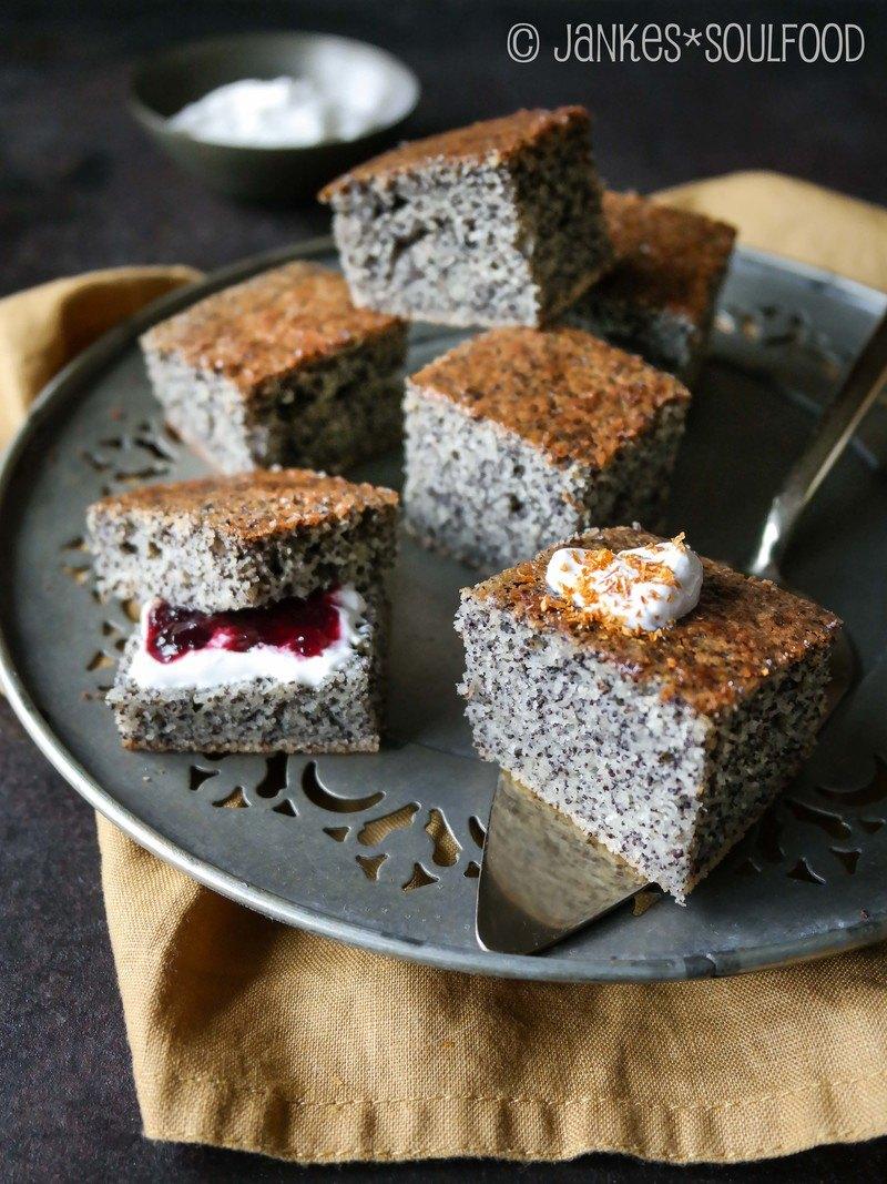 Rezept Mohn-Grieß-Kuchen