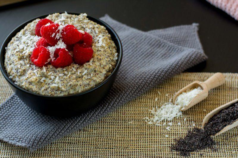 Rezept Mohn-Porridge mit Kokos