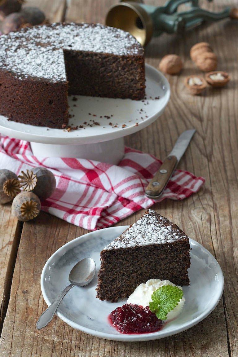 Rezept Mohnkuchen ohne Mehl