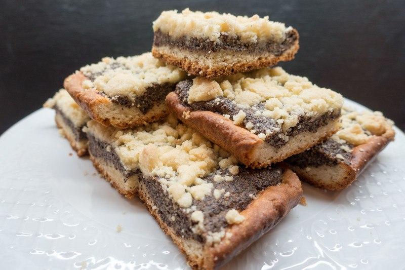 Rezept Mohnkuchen vom Blech