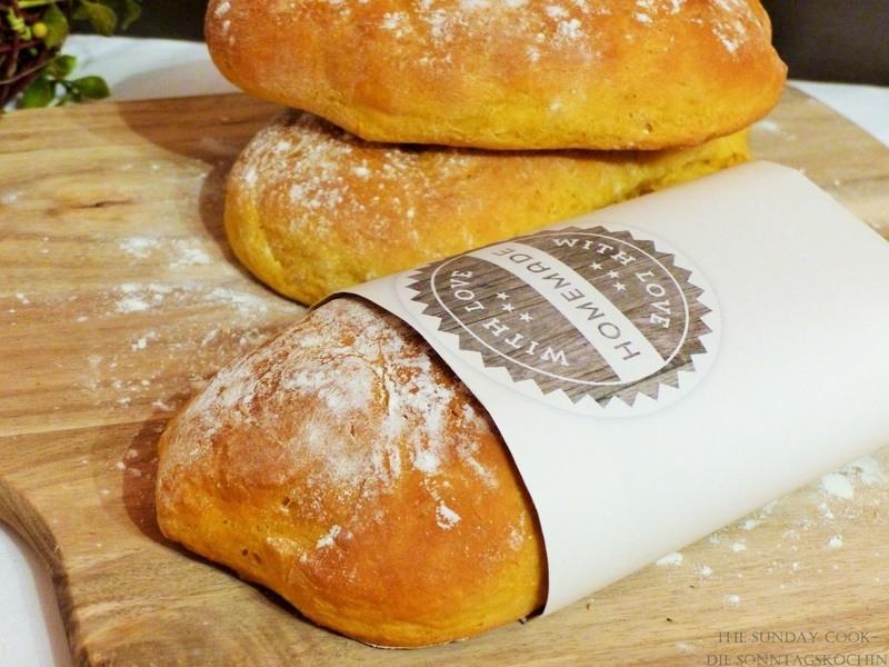 Rezept Möhren Baguette Brötchen