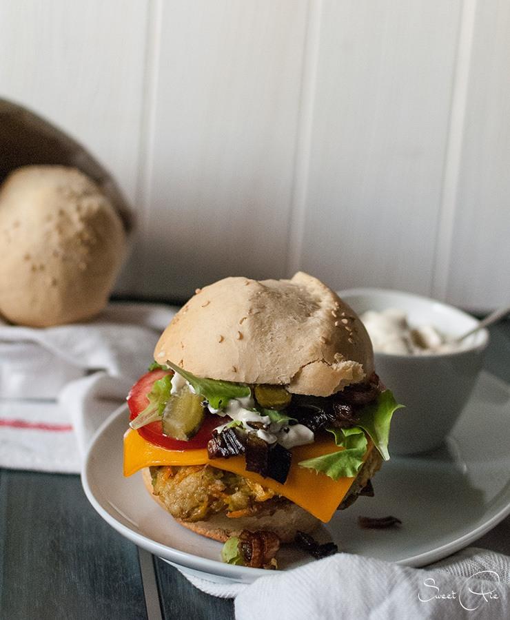 Rezept Möhren Sellerie Burger