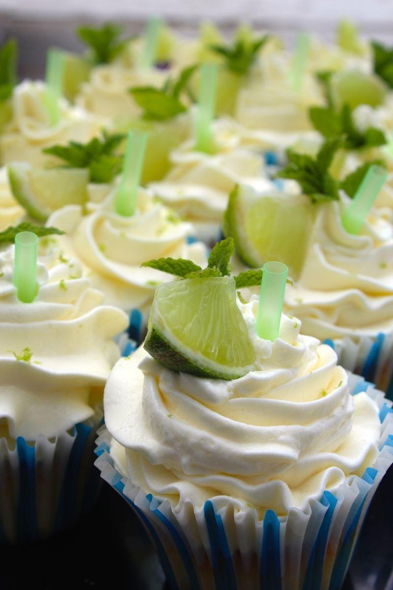 Rezept Mojito-Cupcakes