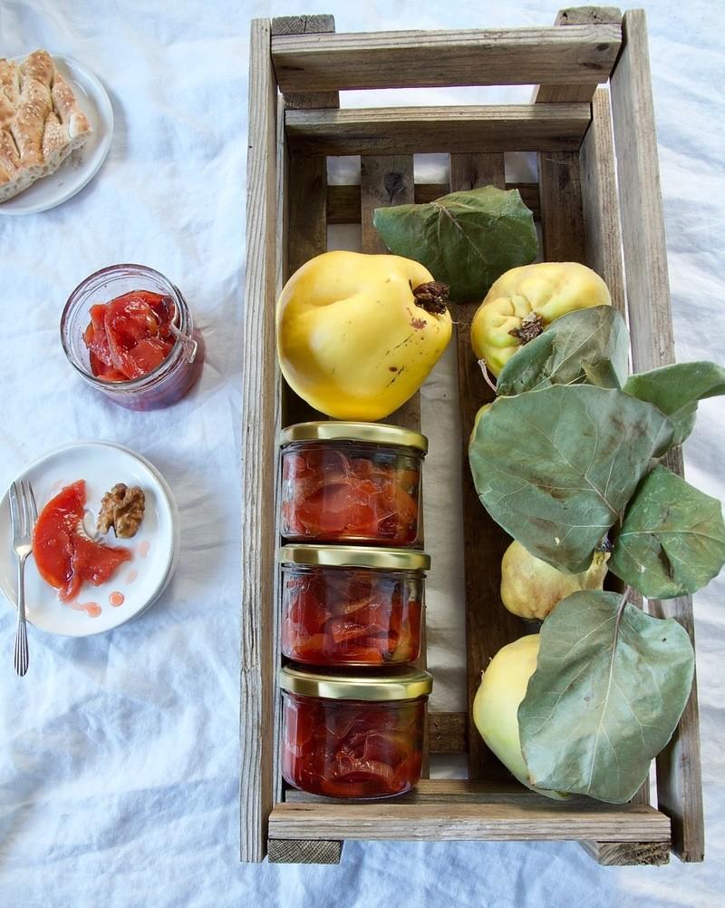 Rezept Morabay-e Beh - persische Quitten-Konfitüre für Mein Wunderbares Chaos