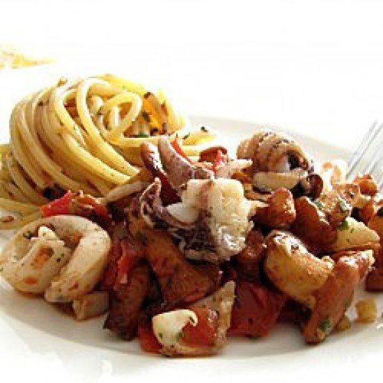 Rezept Moscardini mit Pfifferlingen