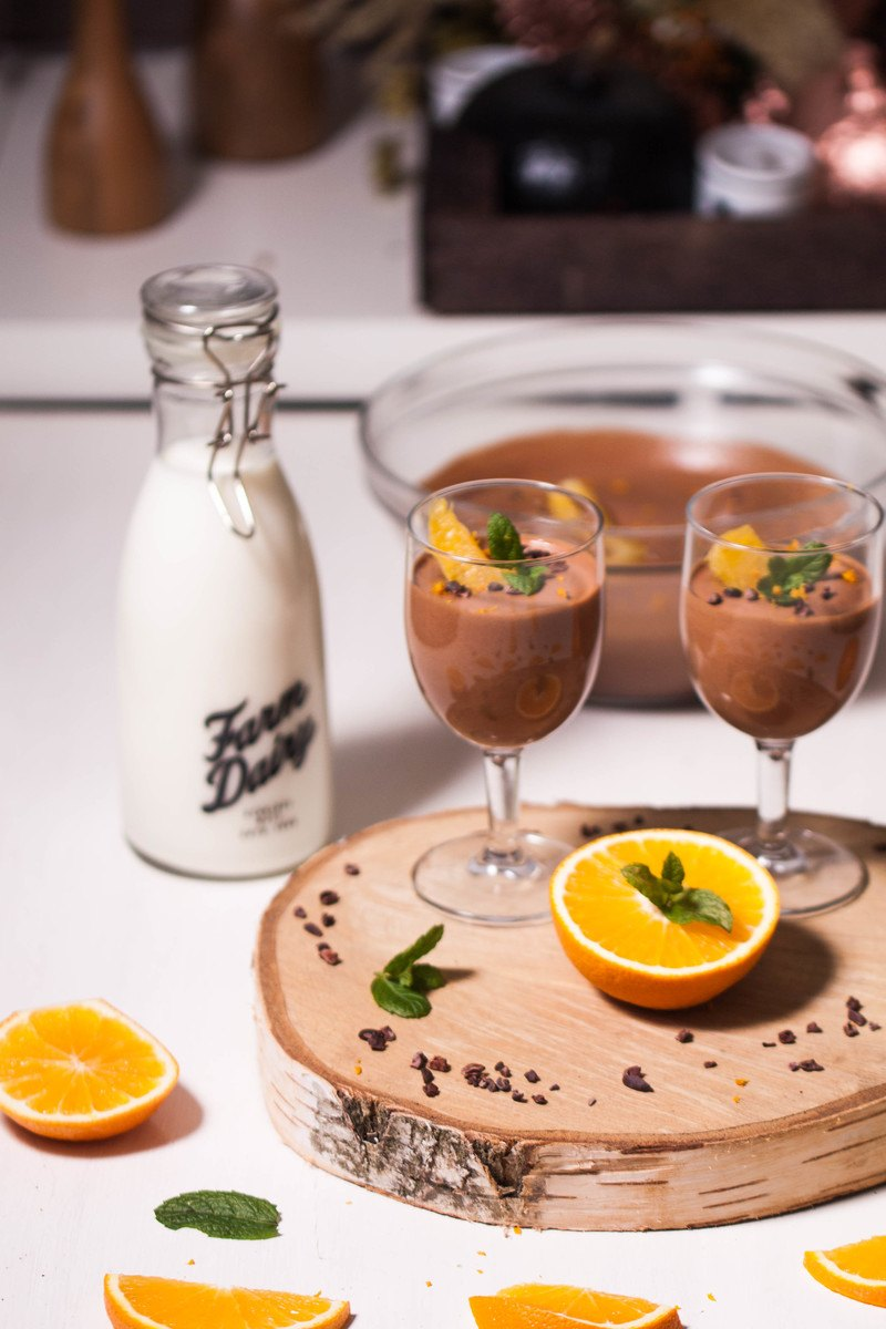 Rezept Mousse au chocolat à l'orange