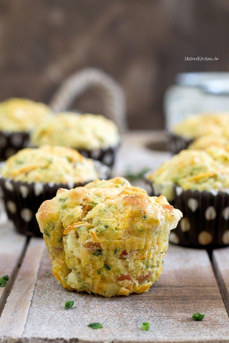 Rezept Muffins mit Käse & Schinken