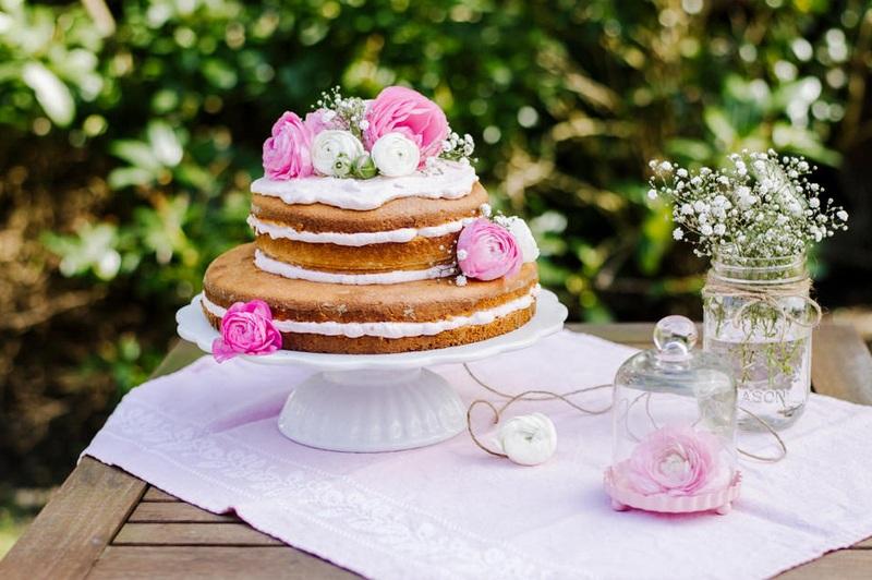 Rezept NAKED CAKE MIT ERDBEERCREME