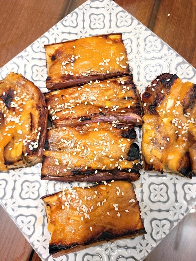 Rezept Nasu Dengaku - japanische Miso Auberginen